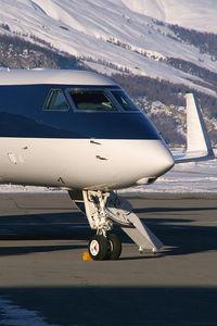 CS-DKC @ LSZS - Netjets Gulfstream 5
