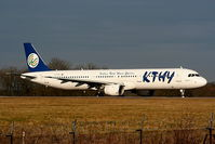 TC-KTD @ EGCC - KTHY - Turkish Cyprus Airlines - by Chris Hall
