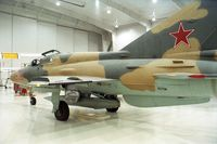 N317DM - Mikoyan i Gurevich MiG-21UM MONGOL at the Polar Aviation Museum, Blaine MN - by Ingo Warnecke