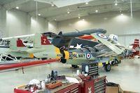 N7022H - DeHavilland D.H.112 Sea Venom at the Polar Aviation Museum, Blaine MN
