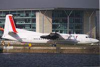OO-VLS @ EGLC - Cityjet / VLM Fokker 50 at London City