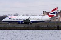 G-LCYG @ EGLC - BA Embraer 170 at London City