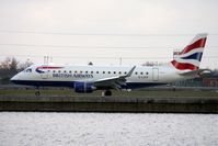 G-LCYF @ EGLC - BA Embraer 170 at London City - by Terry Fletcher