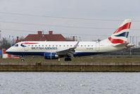 G-LCYD @ EGLC - BA Embraer 170 at London City