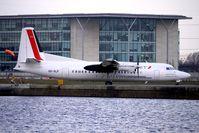 OO-VLP @ EGLC - Cityjet / VLM Fokker 50 at London City