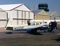 N3251F @ KANE - Mooney M.20E Super 21 at Anoka County Airport, Blaine MN