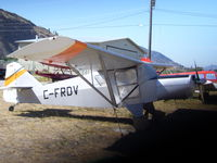 CF-RDV @ CYYF - in its former spot Penticton BC - by Larry Taylor
