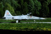 J-3062 @ LSMJ - Evening mission during the 1999 Wiederholungskurs.