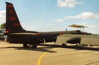 80-1092 @ EGVA - U-2R of 9th Reconnaissance Wing at Beale AFB at the UK Operating Location of Fairford on display at the 1995 Intnl Air Tattoo at RAF Fairford. - by Peter Nicholson