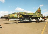 37057 @ EGVA - AJS-37 Viggen of F7 Wing Royal Swedish Air Force on display at the 1995 Intnl Air Tattoo at RAF Fairford. - by Peter Nicholson