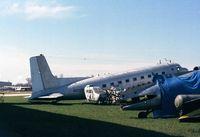N100BF @ KOSH - Douglas C-117 at the Basler Co apron of Wittman regional airport, Oshkosh WI - by Ingo Warnecke