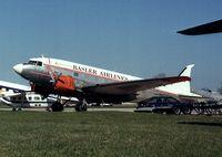 N400BF @ KOSH - Douglas DC-3 at the Basler Co apron of Wittman regional airport, Oshkosh WI
