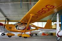 D-MBCG @ LHSY - Szombathely Airport - Hangar - by Attila Groszvald-Groszi