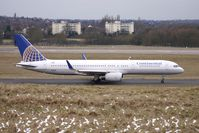 N13138 @ EGBB - Wingtipped Continental Airlines B757 at BHX