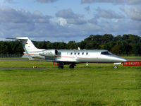 D-CVJN @ EGPH - Learjet 40XR From Vistajet of Austria - by Mike stanners