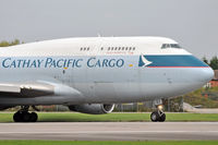 B-HOZ @ EGCC - Cathay Pacific - by Artur Bado?