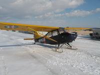 N84539 @ 07N - Aeronca with skis - by rsprank