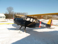 N1604E @ 07N - Winter flight with skis - by rsprank