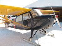 N1604E @ 07N - Winter flying with skis - by rsprank