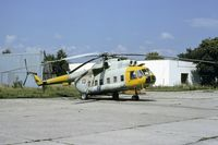 0837 @ LZTN - Mi-8P parked at the Aero plant at Trencin Slovakia - by Friedrich Becker