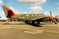 0010 @ EGVA - French Army Reims Cessna Caravan II on display at the 1995 Intnl Air Tattoo at RAF Fairford. - by Peter Nicholson