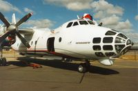 1107 @ EGVA - Another view of the Czech Air Force An-30 Clank at the 1995 Intnl Air Tattoo at RAF Fairford. - by Peter Nicholson
