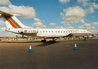 LZ D 050 @ EGVA - Another view of the Bulgarian Air Force Tu-134A Crusty on display at the 1995 Intnl Air Tattoo at RAF Fairford. - by Peter Nicholson