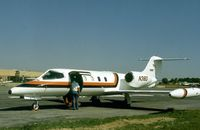 N38D @ FRG - Learjet 36A seen at Republic Airport in the Summer of 1977. - by Peter Nicholson