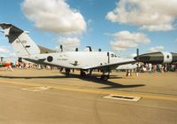 85-0155 @ EGVA - Another view of the 1st Military Intelligence Battalion's Huron on display at the 1995 Intnl Air Tattoo at RAF Fairford. - by Peter Nicholson