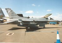 88-0413 @ EGVA - F-16C Falcon, callsign Spike 01, of 510th Fighter Squadron/31st Fighter Wing at Aviano AB on display at the 1995 Intnl Air Tattoo at RAF Fairford. - by Peter Nicholson