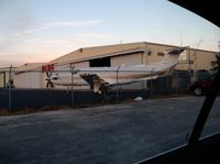 N946JJ @ KVRB - Pilatus getting some wingtip work done at SunJet - by simkatu