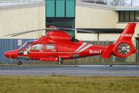 G-REDE @ EGNH - Eurocopter Dauphin II at Blackpool