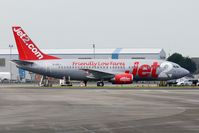 G-CELJ @ EGNH - Jet 2 B737 at Blackpool