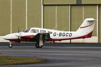 G-BGCO @ EGNH - Piper PA-44 Seminole at Blackpool