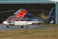 G-BLEZ @ EGNH - Offshore Helicopter based at Blackpool