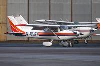 G-BHFI @ EGNH - Cessna F152 at Blackpool
