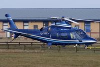 G-JMXA @ EGNH - Agusta A109E Power based at Blackpool