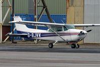 G-BJWW @ EGNH - Cessna F172P at Blackpool