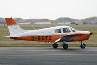 G-BSTZ @ EGNH - 1977 Piper PIPER PA-28-140 at Blackpool