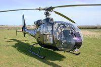 G-BZDV @ FISHBURN - Westland SA-341C Gazelle HT2 at Fishburn Airfield, UK in 2006. Previously 3D-HXL . - by Malcolm Clarke