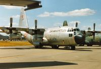 13186 @ EGVA - C-130E Hercules of 222 Filo Turkish Air Force on display at the 1995 Intnl Air Tattoo at RAF Fairford. - by Peter Nicholson