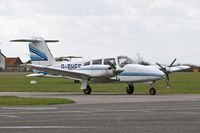 G-BHFE @ EGTC - Piper PA-44-180 Seminole at Cranfield Airport in 2006. - by Malcolm Clarke