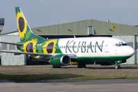 VQ-BHC @ EGNX - Former BMI Baby G-TOYB now painted in colourful Kuban Airlines Livery
