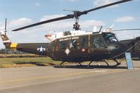 74-22513 @ EGVA - UH-1H Iroquois, callsign Clue 39, of the US Army European Command on display at the 1995 Intnl Air Tattoo at RAF Fairford. - by Peter Nicholson