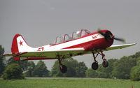 LY-AMP @ EGBR - Bacau Yak-52 at Breighton Airfield in 2003. - by Malcolm Clarke