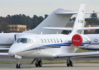 D-CAHH @ EGLF - Aerowest GmbH Cessna 680 Citation Sovereign (c/n 680-0226). - by vickersfour