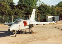 MM7131 @ EGVA - AMX of the Italian Air Force Flight Test Centre on the flight-line at the 1995 Intnl Air Tattoo at RAF Fairford. - by Peter Nicholson