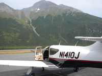 N1410J @ PAVD - Sitting at Valdez Airport - by Bill Hopkins