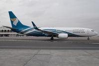 A4O-BF @ OOMS - Oman Air Boeing 737-800