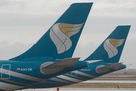 A4O-DB @ OOMS - Oman Air Airbus 330-200